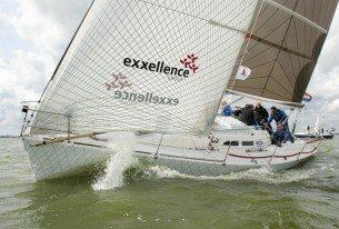 Actief zeilen met luxe jachten op het IJsselmeer