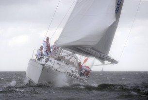 Actieve dag zeilen op een Jacht