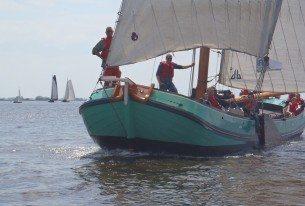 Teambuidlingsdag op de Friese meren
