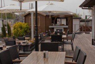 Restaurant de Otter aan de Loosdrechtse plassen bij Utrecht