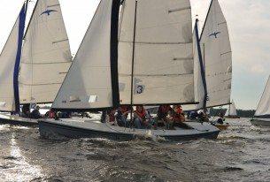 Spectaculair beeld tijdens de Delta Lloyd regatta