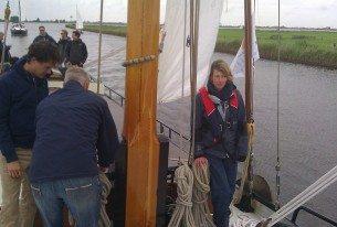 Actief zeilen over de Friese meren