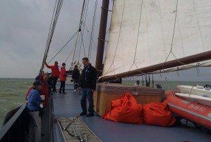 Over het IJsselmeer zeilen met realties
