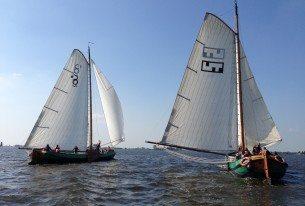 Zeilen en overnachten in Friesland